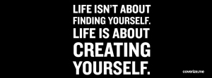 What are you creating for yourself?